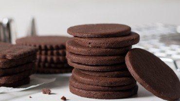Biscuits au chocolat à décorer